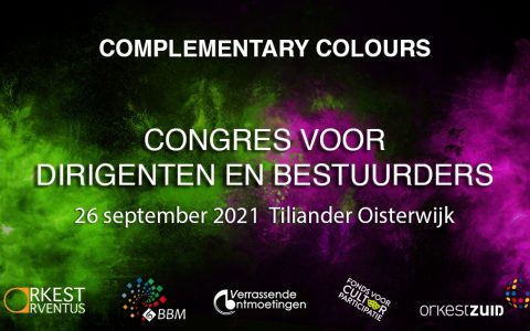 Complementary Colours Congresdag <br> 26 september 2021